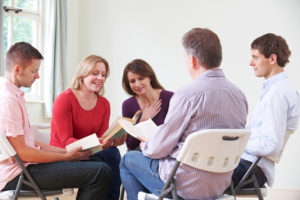 Support group meetings