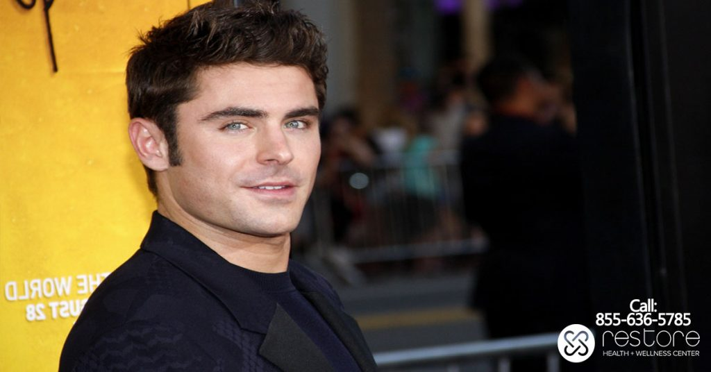 Zac Efron Says Exercise Helps Him Stay Sober